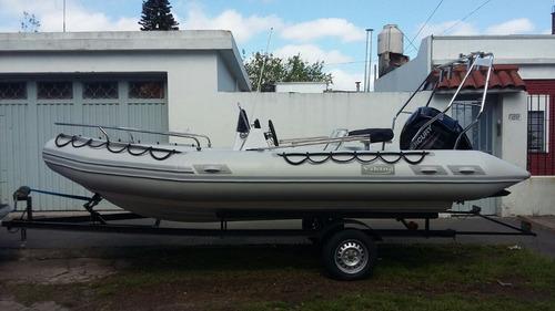 viking 5,2m  60 hp 4 tiempos  trailer con rodillos  todo okm
