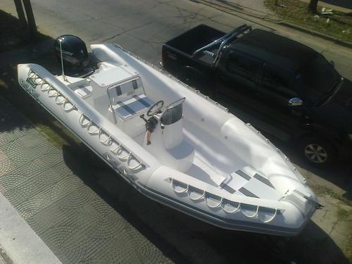 viking 6 mts con 115 hp 4 tiempos mercury full full
