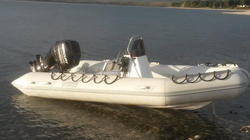 viking de 4,6 mts con yamaha y 30 hp 4 tiempos full full