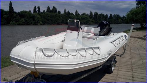 viking excel plus 520 nuevo con mercury ecologico 50 hp cero