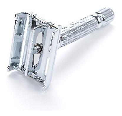 vikings blade the chieftain safety razor + 5 swedish plat...