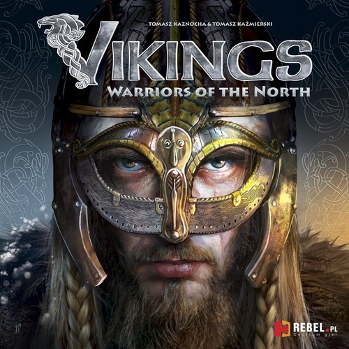 vikings: warriors of the north jogo de tabuleiro imp. rebel