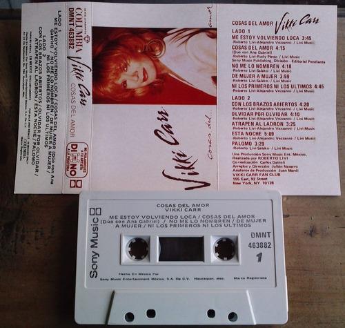 vikki carr cosas del amor cassette rarisimo 1991  daa