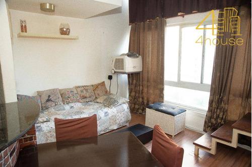 vila leoplodina - apartamento duplex 39m²  01 dorm (1 suíte)  01 vaga na rua schilling para venda. - ad0064