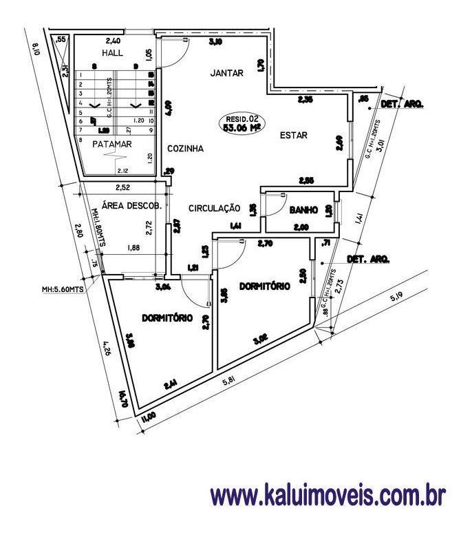 vila lucinda - apto. sem condomínio p/ investidor - 71495
