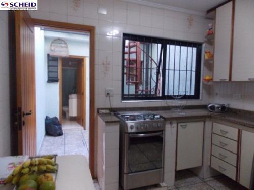 vila mascote: sobrado com 120 m²: com 2 dormitórios, sala, cozinha, garagem. - mc3172