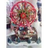 vila natalina roda gigante movimento musical luz - oferta