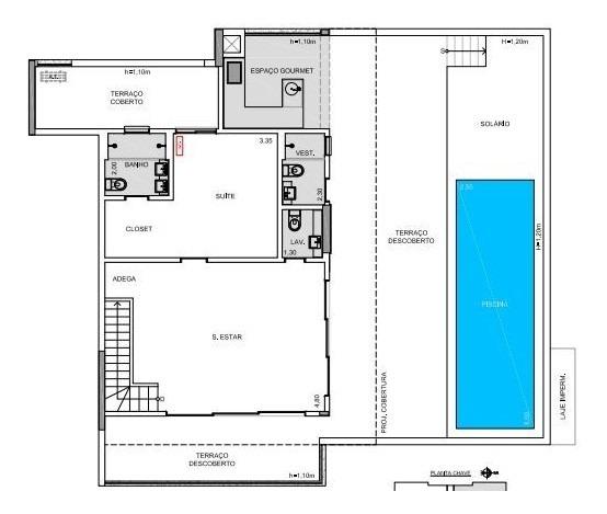 vila romana sp cobertura duplex 436m, 5 vagas