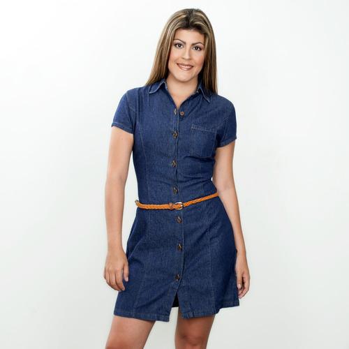 vilamo vestido dama casual jean original a la moda ref 1707