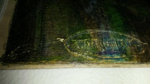 vilar errecart lapiz dibujo surrealista firmado sello