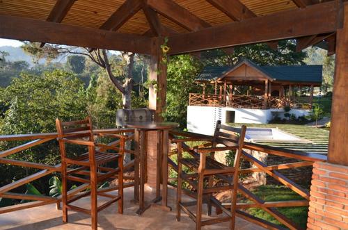 villa amueblada con jacuzzi en jarabacoa rmv-119