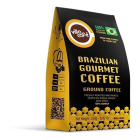 Villa Café Gourmet - Torrado E Moído 100% Arábica - 250g