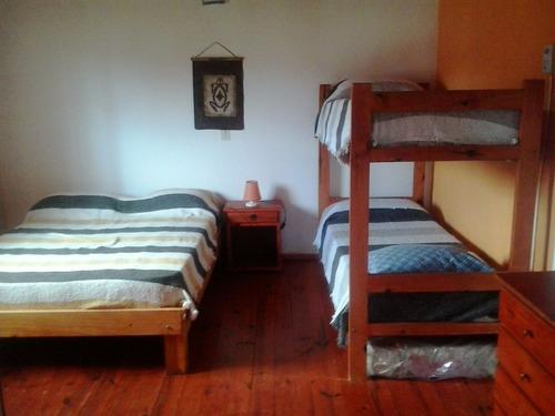 villa carlos paz san antonio  casas  4  y 7  pers. c/pileta