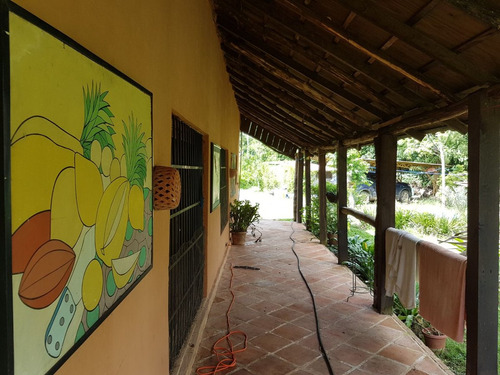 villa con piscina en villa mella con 55 tareas cereza, limon