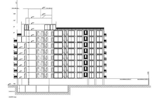 villa crespo con enrase aprobado para 1850m2 de venta