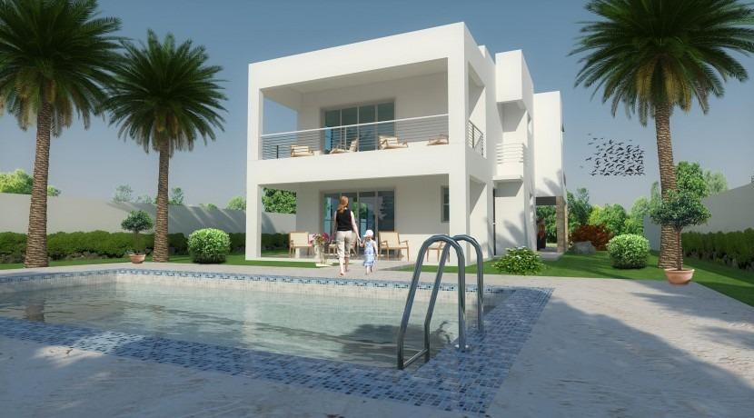 villa de 3 dormitorios en sosua, puero plata wpv04