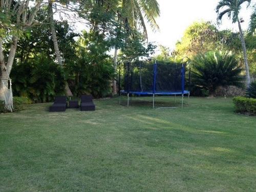 villa de exclusiva en casa de campo -ideal para grupos grandes