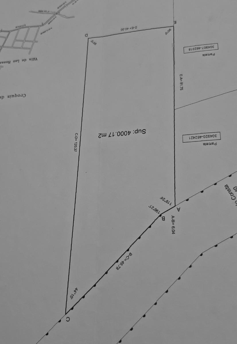 villa de las rosas (traslasierra) - 4000 m2 en venta