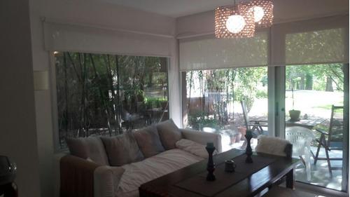 villa del lago - dto. 3 amb. parrilla - patio - dos cocheras