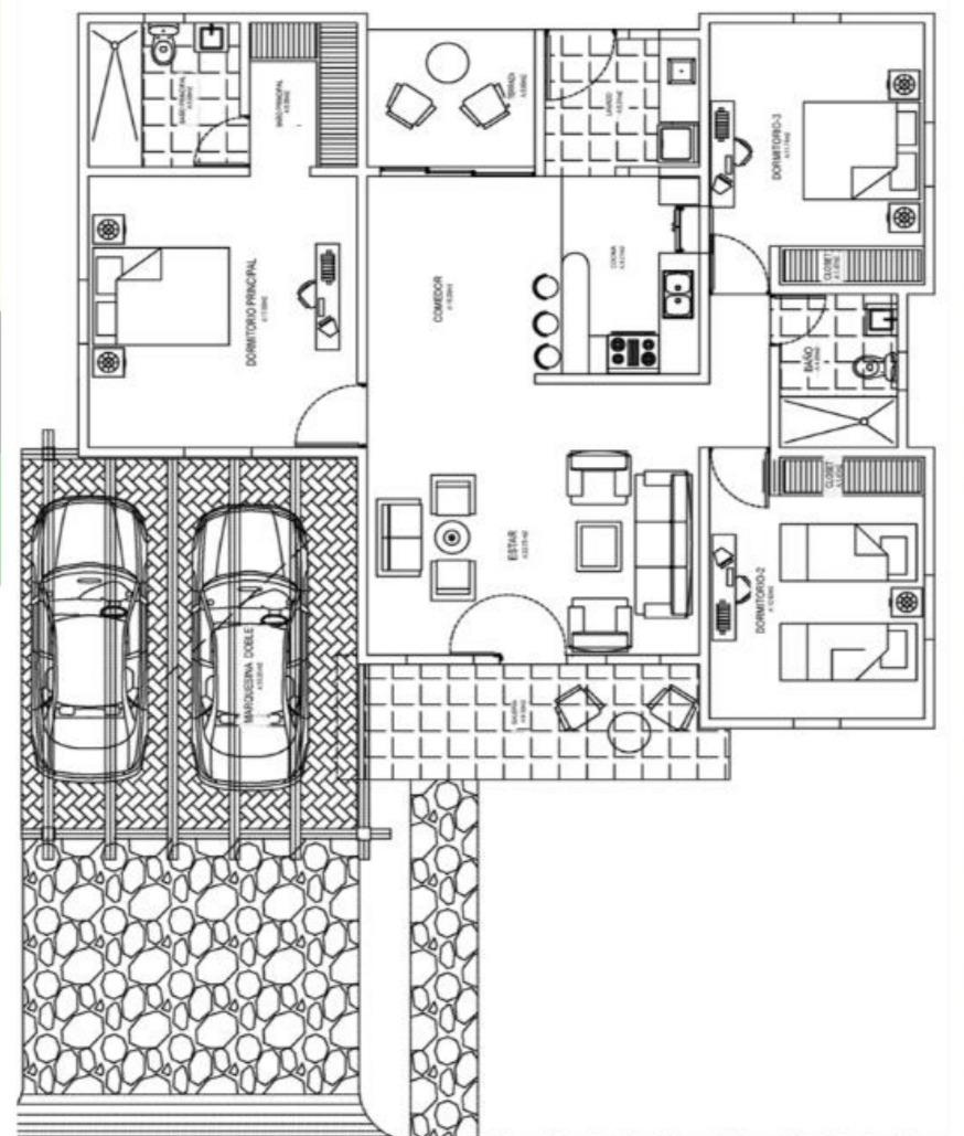 villa en boulevard center, bávaro 6548-b