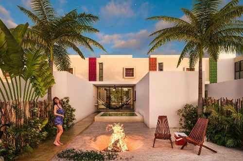 villa en venta en chicxulub puerto, privada. cv-5691