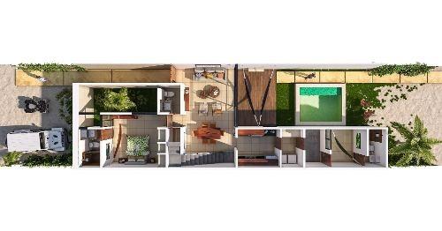 villa en venta en chicxulub puerto, zona norte. cv-5693