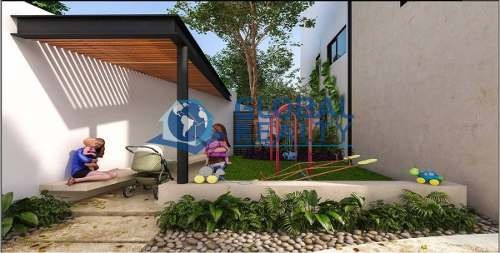 villa en venta en zona norte de mérida, en privada. cv-4996
