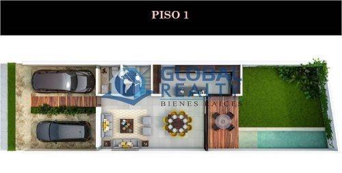 villa en venta, privada, temozón, cerca de galerías. cv-4993