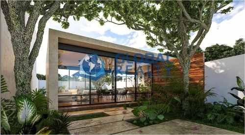 villa en venta, privada temozón zona plaza la isla. cv-4990