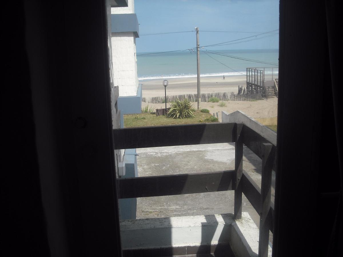 villa gesell - dpto. 2 ambientes piso 1. vista al mar