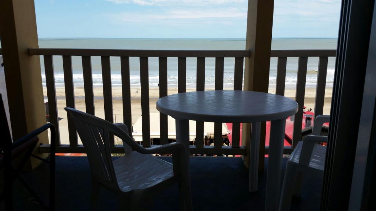 villa gesell.3 amb.104 y playa.frente al mar.