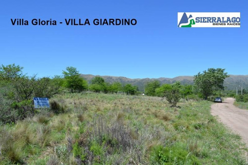villa gloria - 2 lotes con escritura