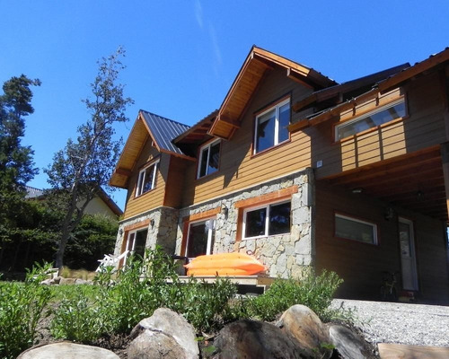 villa la angostura alquiler casa vista a dos lagos 6-8 pax