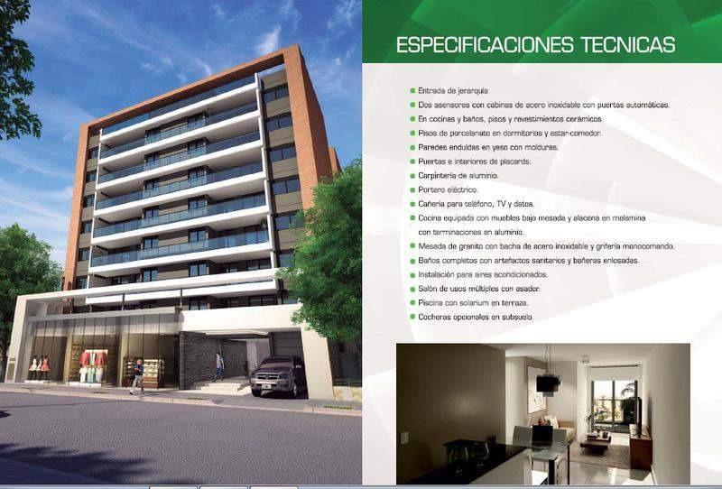 villa maria - 1 dormitorio a estrenar - sum y pileta - ultimas unidades!!