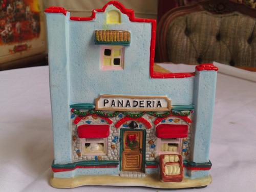 Villa navide a porcelana 2 en mercado libre for Villas navidenas de porcelana