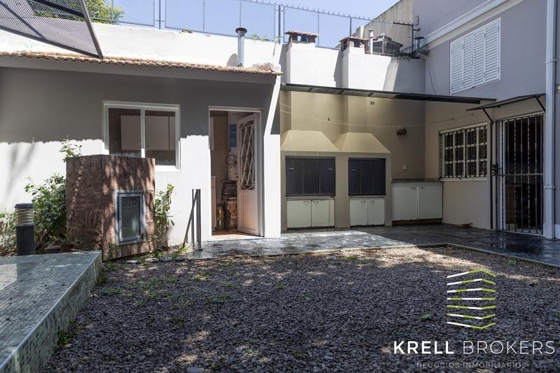 villa urquiza - casa de estilo inglés 7 amb c/ jardín y 2 coch.