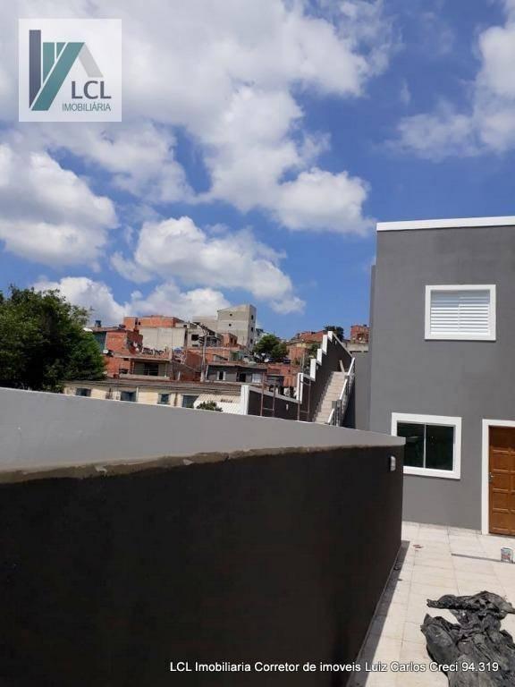 village com 2 dormitórios à venda, 60 m² por r$ 209.000,00 - jardim sandra - cotia/sp - vl0003