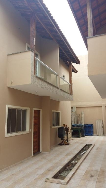 village com 2 dormitórios à venda, 60 m² por r$ 225.000 - itaóca - mongaguá/sp - vl0044