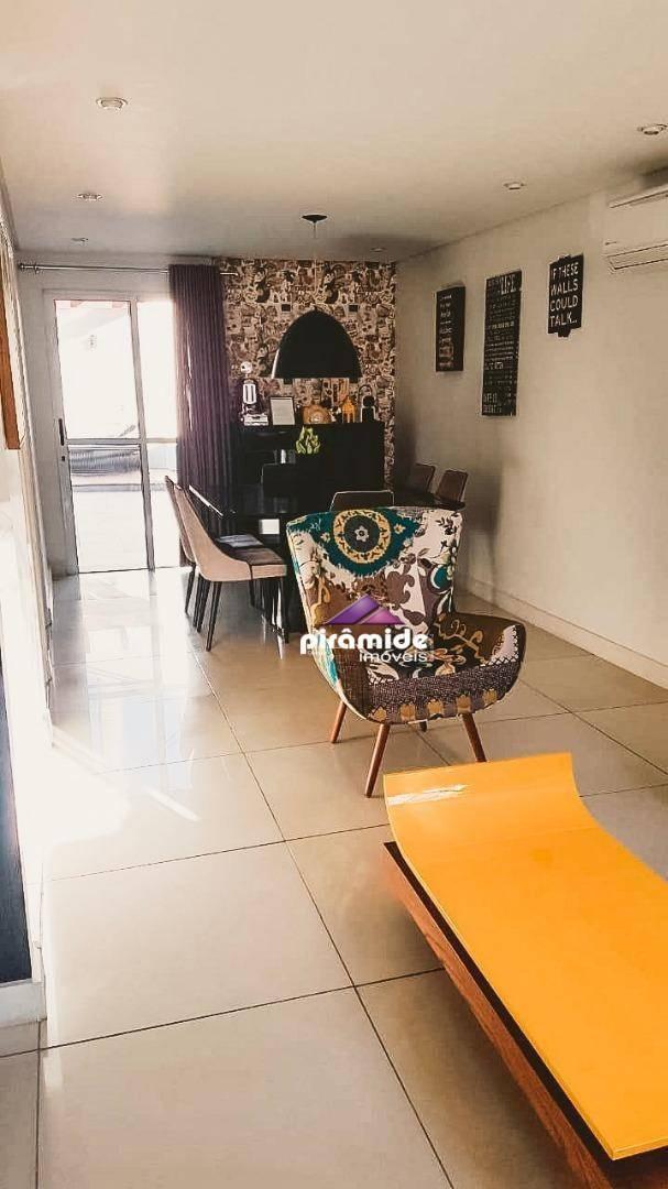 village com 3 dormitórios à venda, 90 m² por r$ 590.000 - urbanova - são josé dos campos/sp - vl0022