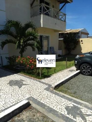 village para venda stella maris, salvador 2 dormitórios sendo 1 suíte, 1 sala, varanda, 1 banheiro, área de serviço, 1 vaga, 75 m² construída. - ca00028 - 32044974