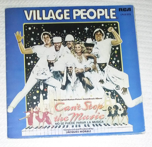 village people - can't stop the music ( l p ed. uruguay)
