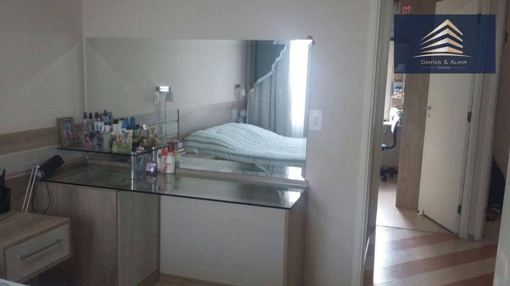 villagio maia - condomínio fechado! 03 dorms, closet, sala ampla e cozinha. - so0015