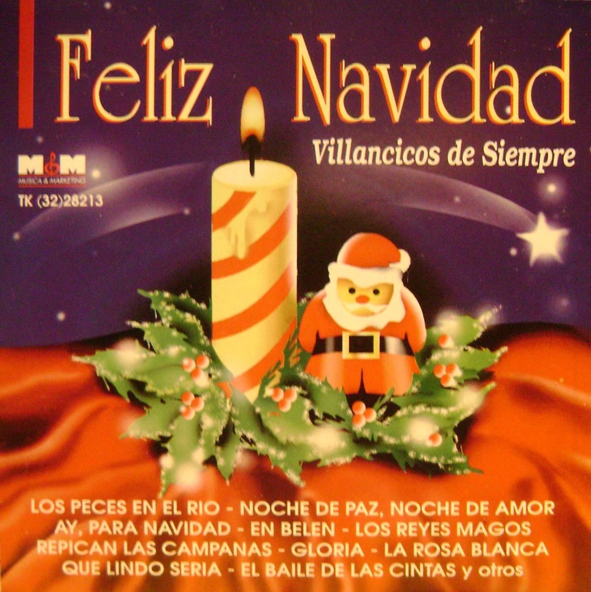 Villancico Feliz Navidad A Todos.Villancicos Feliz Navidad Cd Original 180 00