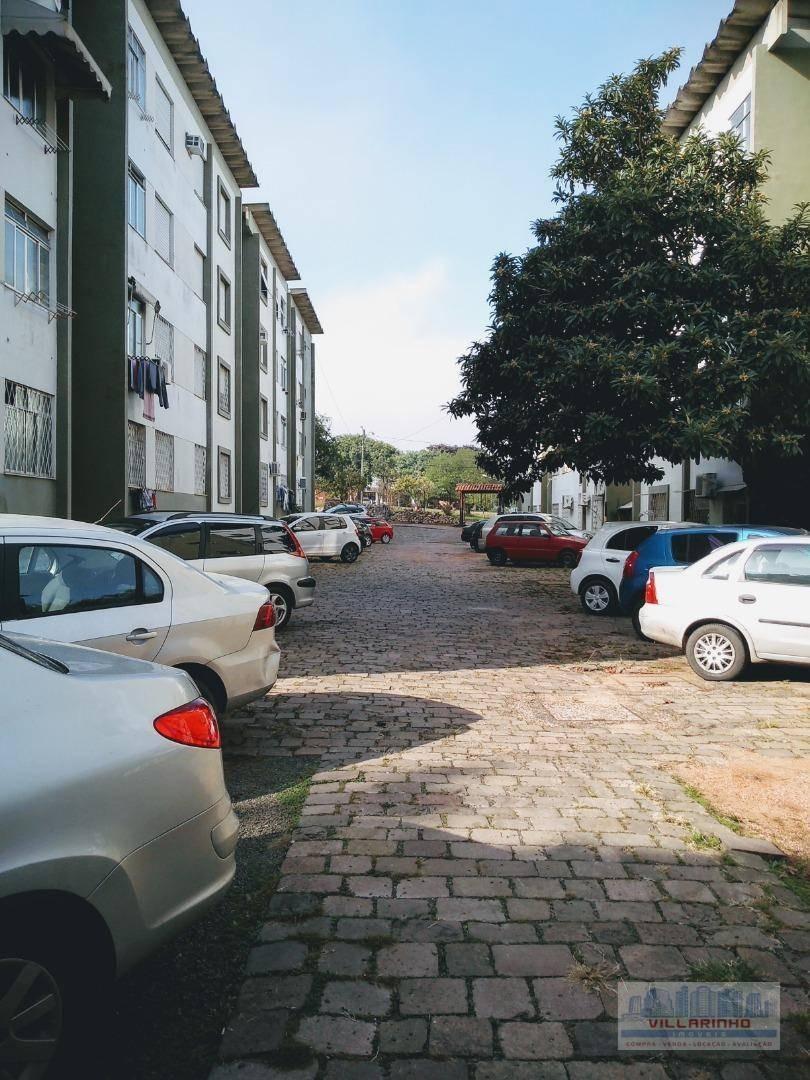 villarinho imóveis vende apartamento - 3 dormitórios à venda, 66 m² por r$ 190.000 - vila nova - porto alegre/rs - ap1295