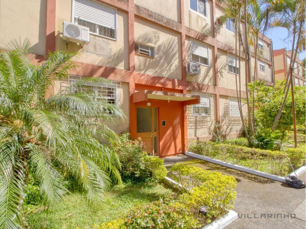 villarinho imóveis vende apartamento com 2 dormitórios, 48 m² por r$ 170.493 - camaquã - porto alegre/rs - ap1548