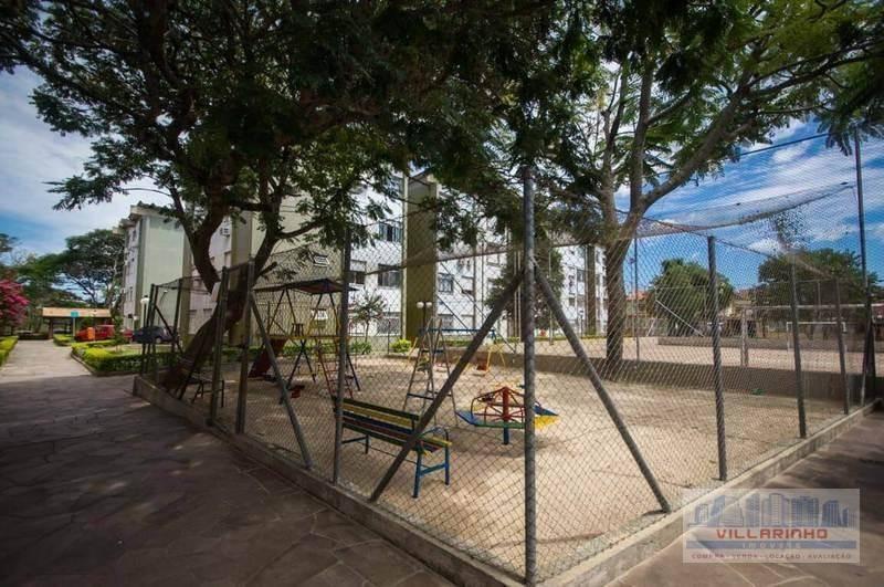 villarinho imóveis vende: apartamento com 3 dormitórios à venda, 65 m² por r$ 165.000 - vila nova - porto alegre/rs - ap0819