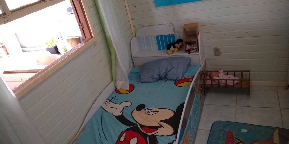 villarinho vende casa com 2 dormitórios,90m² c terreno de 430m², escriturado,  por r$ 180.000 - campo novo - porto alegre/rs - ca0448