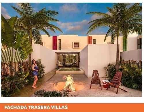 villas en chixchulub puerto 3 recamaras, amenidades, privada con vigilancia, zona de playa