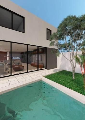 villas en pre - venta en merida 2 niveles modelo b $2,220,000 temozon nte - f226