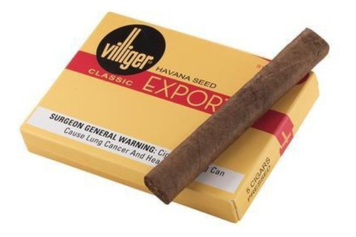 villiger export habanos x5 habano premium cigarros cigarro